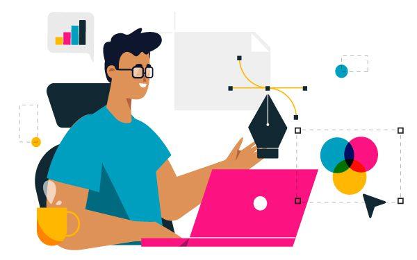 diseñando desarrollo gráfico